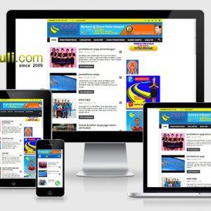 jasa website sekolah pramugari